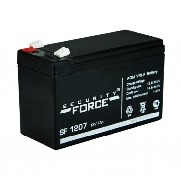 Аккумулятор SF 1207 АКБ 12 В; 7 Ач