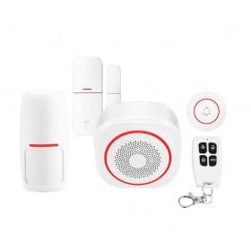 Охранная сигнализация ALFA H3 с Wi-Fi модулем и с функцией звонка. Умный дом Tuya Smart