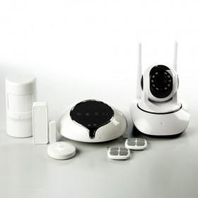 GSM сигнализация ALFA S1 с беспроводной IP видеокамерой