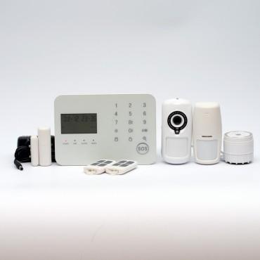 Охранная сигнализация ALFA G55 WiFi/GSM/PSTN видео