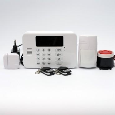 GSM сигнализация с радиомодулем 2,4 ГГц повышенной дальности ALFA G80