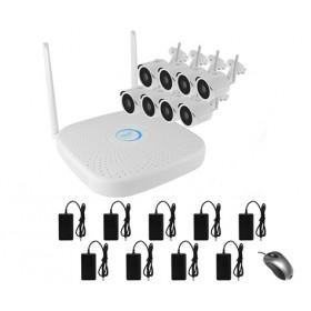 Комплект IP видеонаблюдения WIFI 081MP