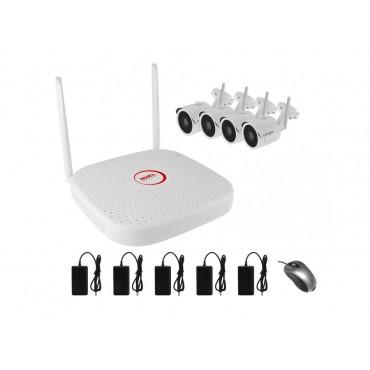 Комплект IP видеонаблюдения WiFi 041MP