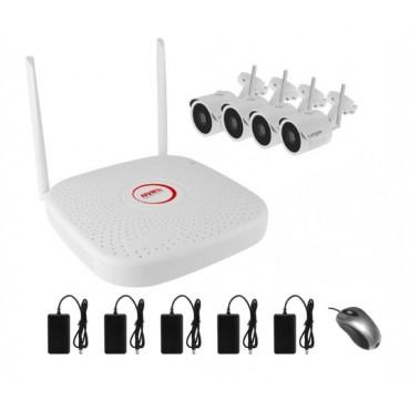 Комплект IP видеонаблюдения WiFI 042MP