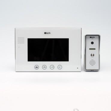 Комплект видеодомофона ALFA 703