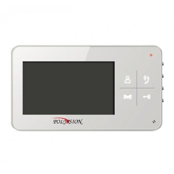 Миниатюрный видеодомофон PVD-4S v.7.4