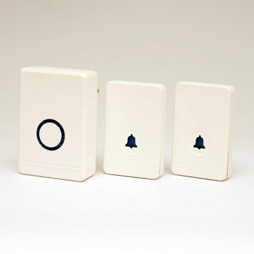 """Звонок беспроводной уличный влагозащищенный """"Мелодия-2"""" с двумя вызывными панелями (с дальностью до 400 м)"""