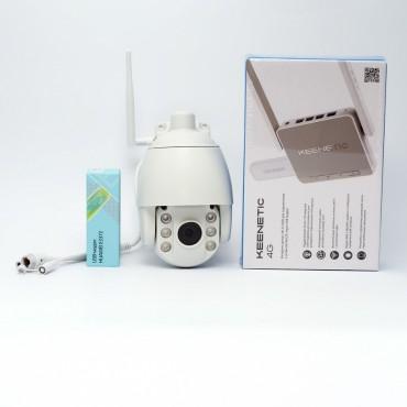 """Комплект видеонаблюдения «Обзор-Люкс» для установки в загородном доме """"под ключ"""""""