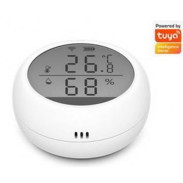 Термоиндикатор бытовой с WIFI подключением Tuya Smart  ТИБ-10А (Температурный самописец)
