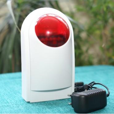 Беспроводная сирена 433 мгц для wifi сигнализации G90B
