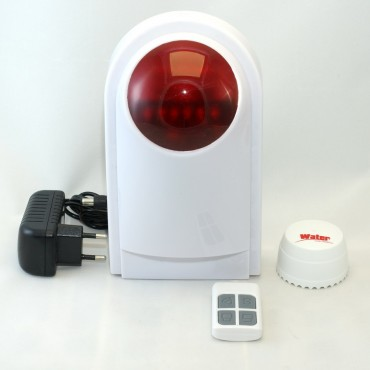 Устройство для контроля протечки воды ALFA W1: датчик + сирена