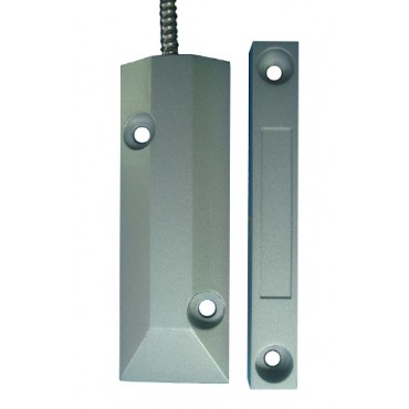 Извещатель магнитоконтактный проводной (датчик на металлическую дверь, ворота) RDS02