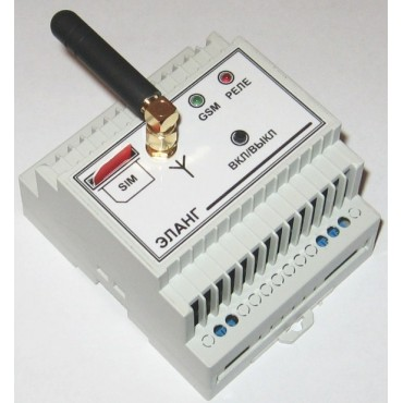 GSM реле для дистанционного управления автоматическими воротами и шлагбаумами