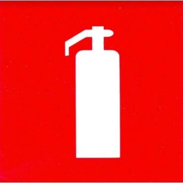 Наклейка «Огнетушитель» для улицы и помещений