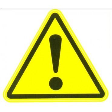 Знак электробезопасности «Внимание! Опасность!»