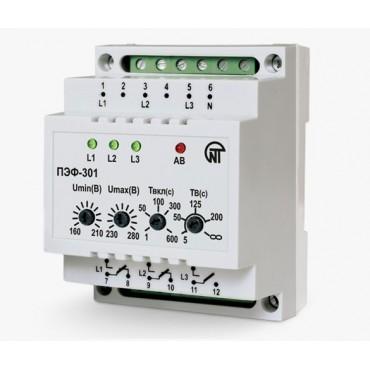 Переключатель фаз электронный ПЭФ-301, 3,6 кВт (16А)