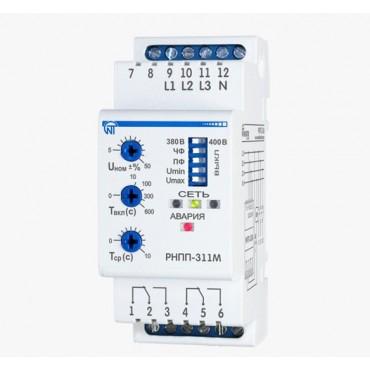 Трехфазное реле напряжения и контроля фаз РНПП-311M, 5 А
