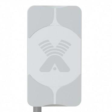 Антенна AGATA-2F MIMO 2x2 (3G MIMO + 4G MIMO 2х2), направленная, тип – панельная/17Дб/2*F-female