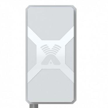 Nitsa-5F MIMO/ антенна выносная панельная направленная LTE800/GSM900/GSM1800/UMTS2100/DC-HSPA/LTE2600/2*(9-14) dBi/2*F-female