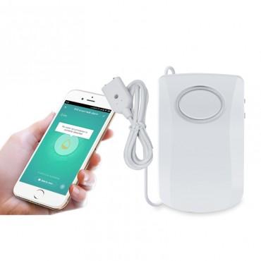 WIFI Датчик затопления с выносным щупом Сигнал-2.2 (Умный датчик затопления с Wi-Fi подключением Tuya Smart)