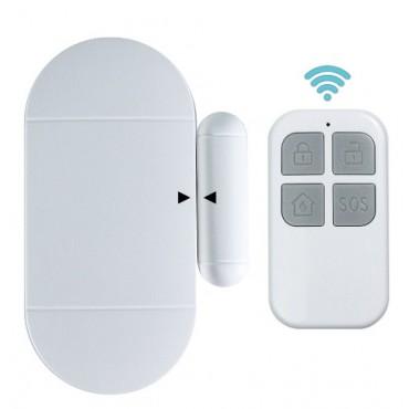Сигнализация на дверь, окно со звуковым оповещением ALFA MC-02 (Сигнализатор двери, велкамер)