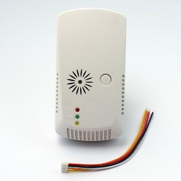 Проводной датчик утечки газа с управлением клапаном GAS 04