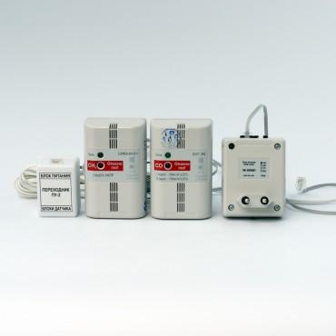 Контроль загазованности СИКЗ+БУГ (Природный газ, Угарный газ)