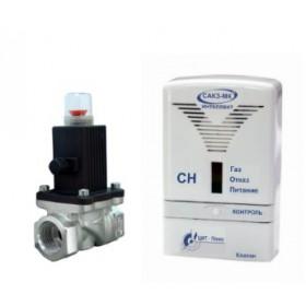 Система контроля загазованности САКЗ-МК-1-1Аi  с клапаном DN 25 НД (природный газ)