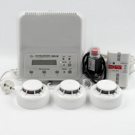 Комплексная система контроля загазованности и пожарной безопасности ЭКО-M-1.1