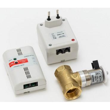 Комплект сигнализатора загазованности СИКЗ-32-С с клапаном КЭМГ-A-32, сжиженный газ СхНУ