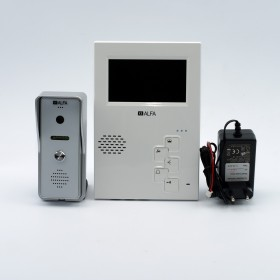 Комплект видеодомофона ALFA 404