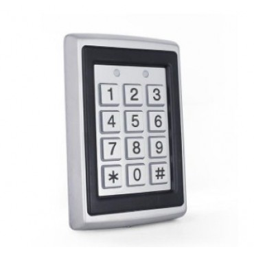 Считыватель уличный RFID меток в металлическом корпусе с влагозащитой IP65 (чип EM, 125 кГц) со встроенной клавиатурой ALFA CK-6.2