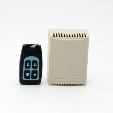 Реле радиоканальное 4 канальное для управления СКУД (управление воротами, калитками, дверьми, и т.д.)