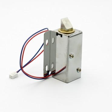 Компактный электрический замок для мебели, щитовых, шкафчиков и ячеек хранения ЗШ-1.1