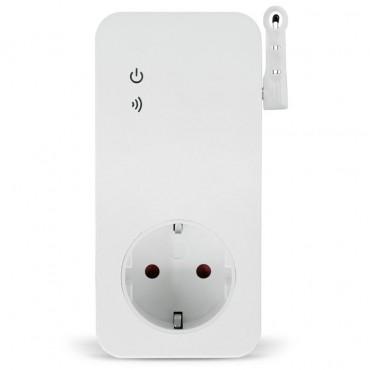 Wi-Fi розетка Simpal W230-C с температурным датчиком