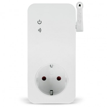 Wi-Fi розетка SimPal-W230 с датчиком температуры