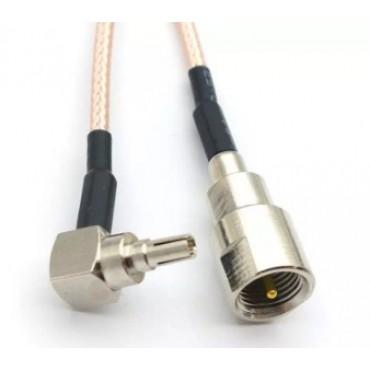 Пигтейл, адаптер FME для разъема CRC9 (для модемов Huawei и ZTE, 20 см)