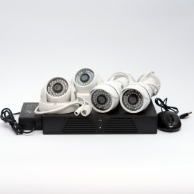 Комплект IP видеонаблюдения IPKIT2MP
