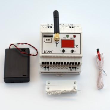 GSM реле с функцией регулятора температуры, ELANG Power Control Thermo