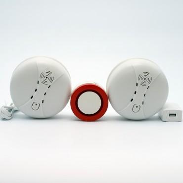 Охранно-пожарная сигнализация ALFA WSD 12 c Wi-Fi подключением