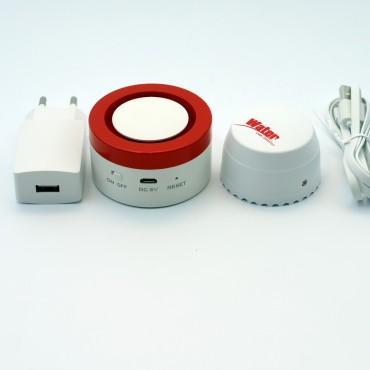 Сигнализатор затопления Аква Стоп плюс с Wi-Fi подключением (Tuya Smart)