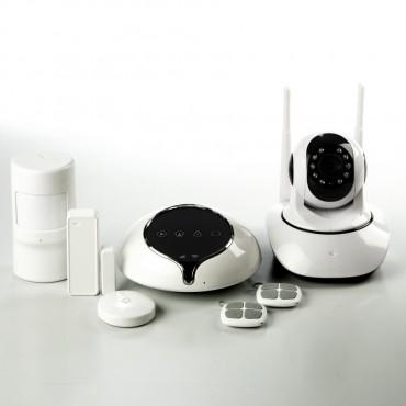 WIFI GPRS GSM сигнализация ALFA S1 с беспроводной IP видеокамерой