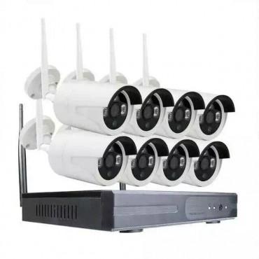 Wi-Fi видеокомплект NKITR08BWL