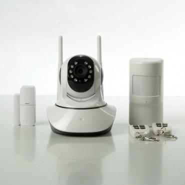 Комплект беспроводной wifi видео сигнализации  ALFA V2