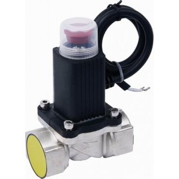 Клапан электромагнитный аварийного выключения газа  HG-510. Размер 1/2 и 3/4